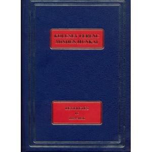 KÖLCSEY FERENC MINDEN MUNKÁI - LEVELEZÉS IV. 1834-1836