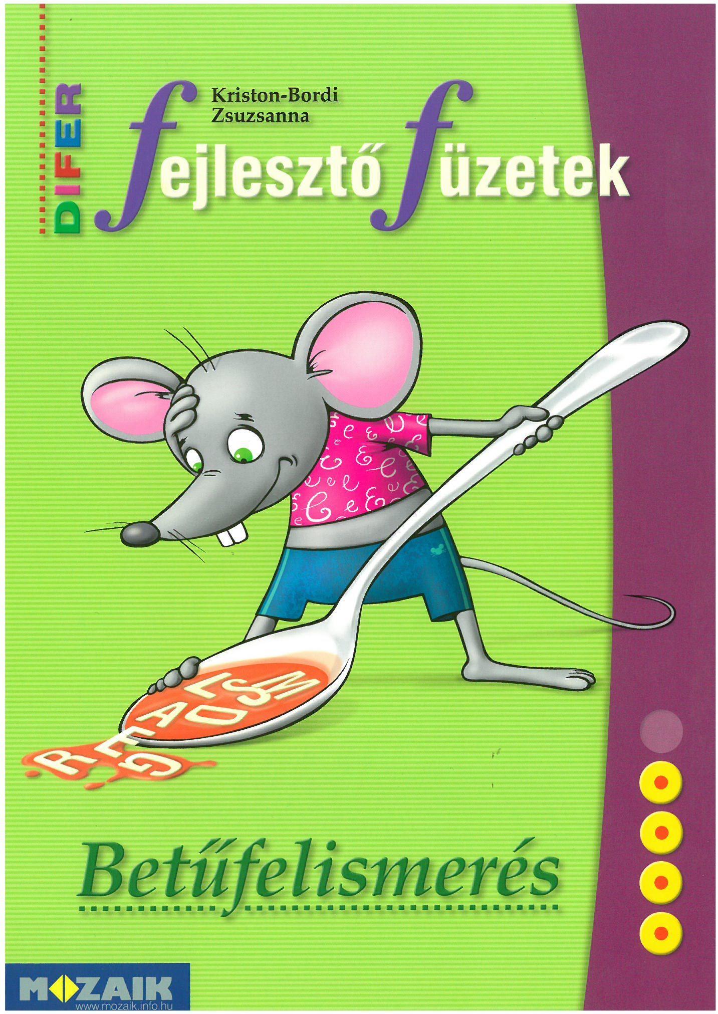 DIFER FEJLESZTŐ FÜZETEK - BETŰTANULÁS (MS-9333U)