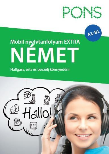 - PONS MOBIL NYELVTANFOLYAM - NÉMET EXTRA (KÖNYV + CD)