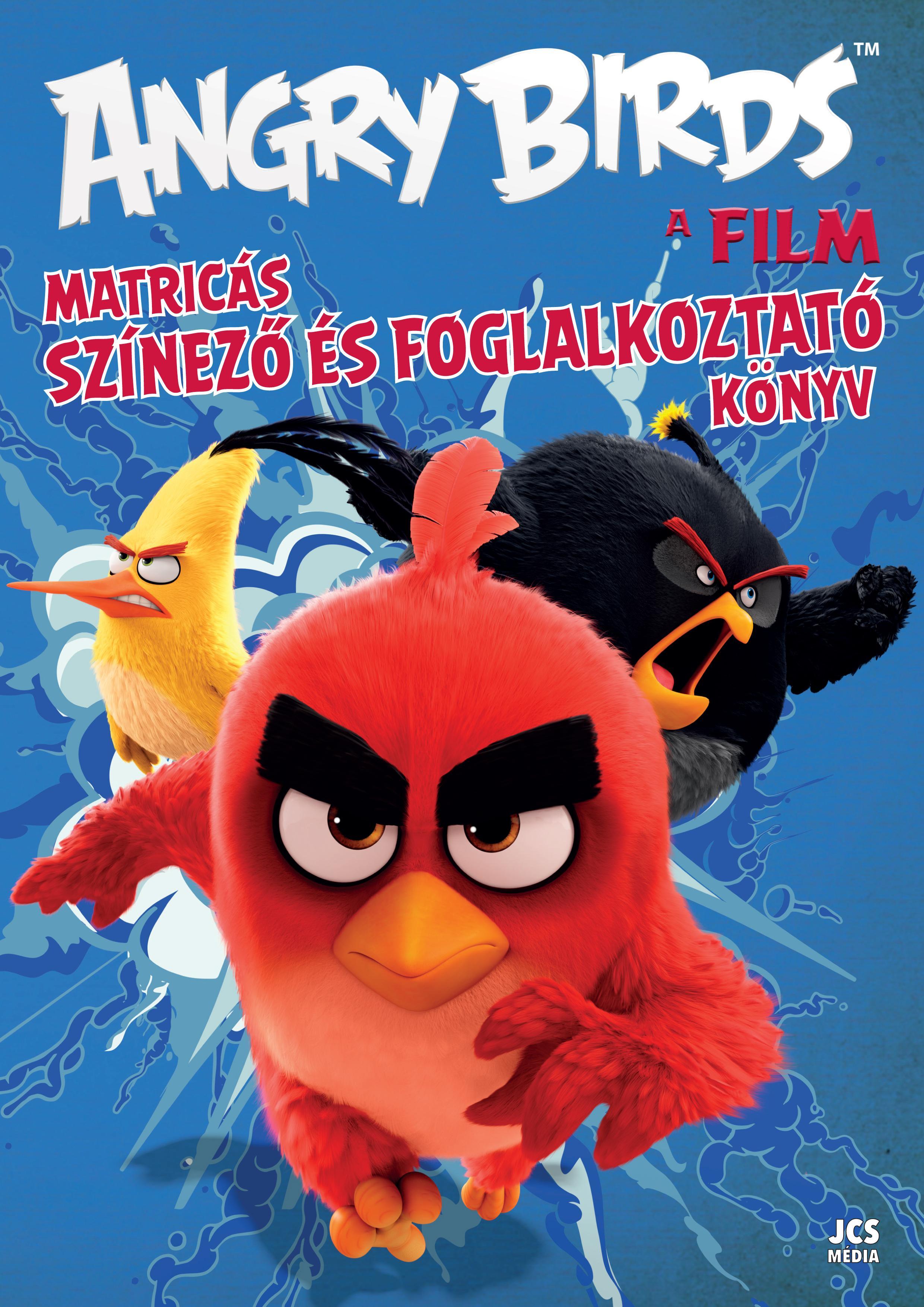 ANGRY BIRDS A FILM - MATRICÁS SZÍNEZÕ ÉS FOGLALKOZTATÓ KÖNYV