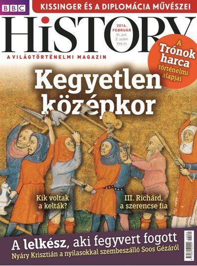 BBC HISTORY VI. ÉVF. - 2016/2.