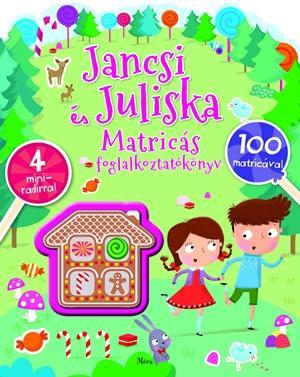 JANCSI ÉS JULISKA MATRICÁS FOGLALKOZTATÓKÖNYV - 4 MINIRADÍRRAL