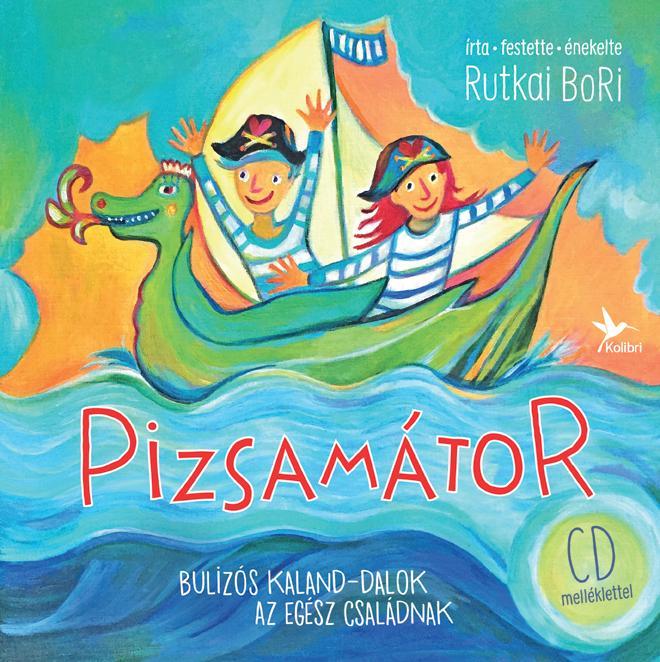 PIZSAMÁTOR - CD MELLÉKLETTEL