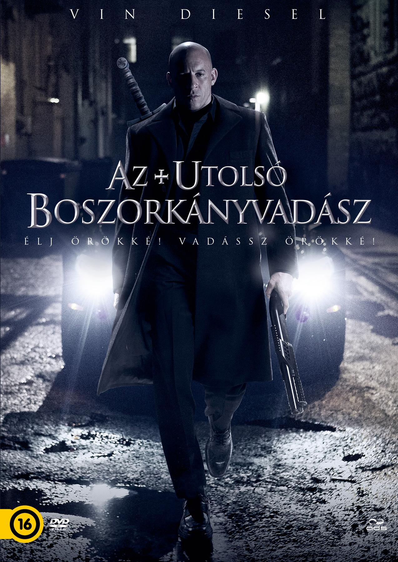- AZ UTOLSÓ BOSZORKÁNYVADÁSZ - DVD -