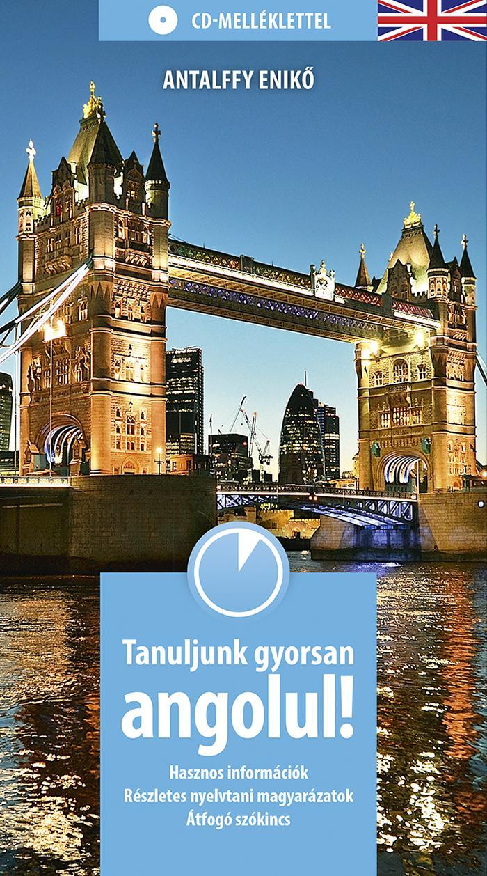 TANULJUNK GYORSAN ANGOLUL! - CD-MELLÉKLETTEL