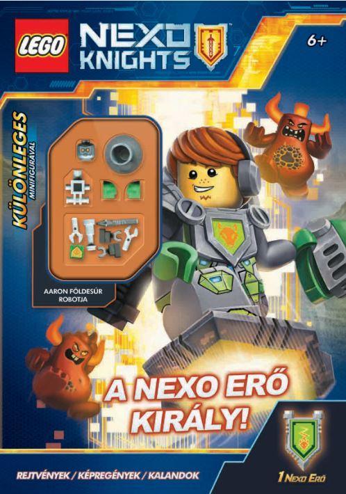 LEGO NEXO KNIGHTS - A NEXO ERÕ KIRÁLY - MINIFIGURÁVAL!