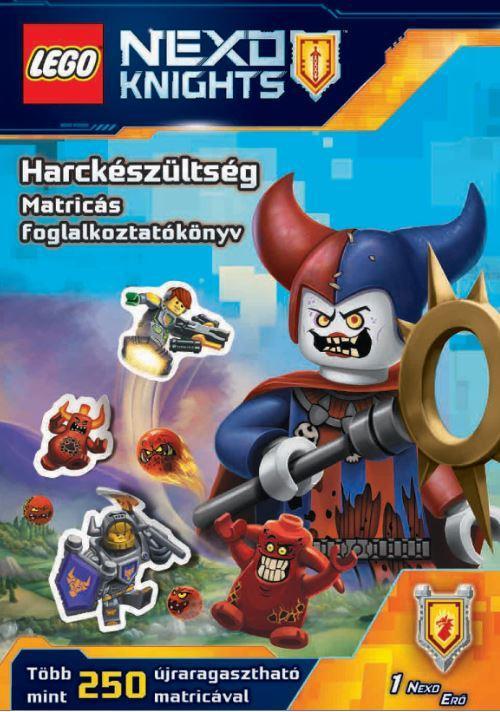 HARCKÉSZÜLTSÉG - MATRICÁS FOGLALKOZTATÓKÖNYV - LEGO NEXO KNIGHTS