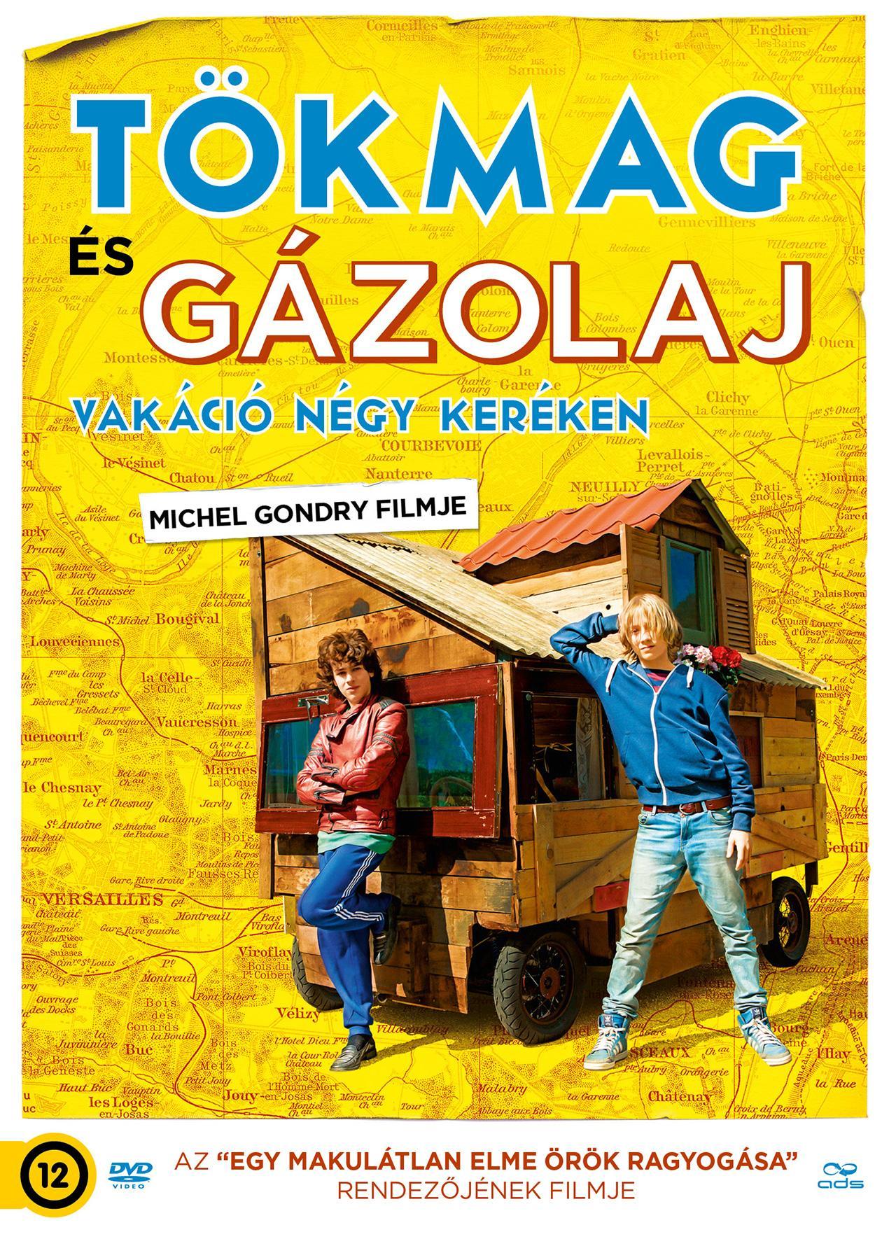 - TÖKMAG ÉS GÁZOLAJ - VAKÁCIÓ NÉGY KERÉKEN - DVD -