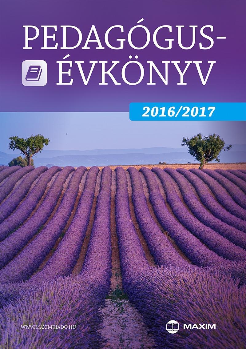PEDAGÓGUS-ÉVKÖNYV 2016/2017