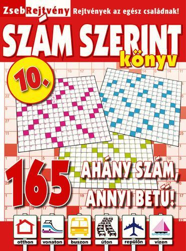 ZSEBREJTVÉNY SZÁM SZERINT KÖNYV 10.