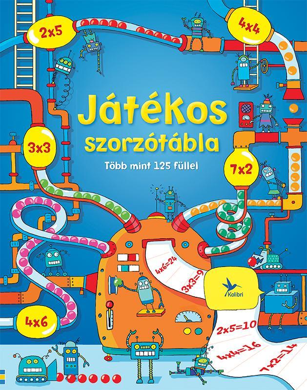 JÁTÉKOS SZORZÓTÁBLA - TÖBB MINT 125 FÜLLEL