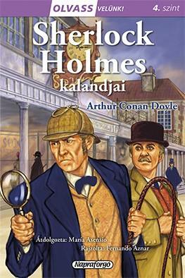 SHERLOCK HOLMES KALANDJAI - OLVASS VELÜNK! (4)