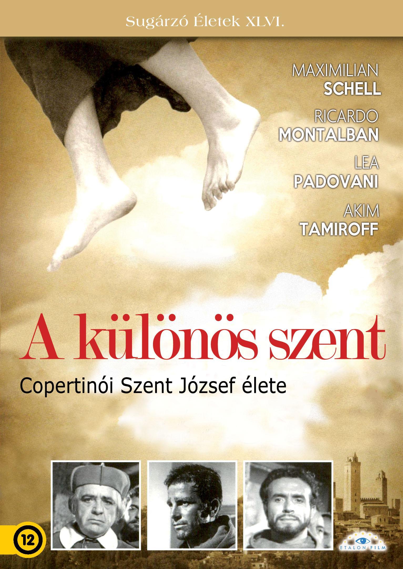 - A KÜLÖNÖS SZENT - COPERTINÓI SZENT JÓZSEF ÉLETE - DVD -