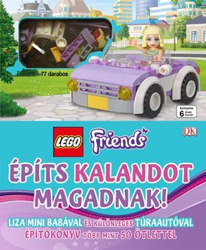 LEGO FRIENDS - ÉPÍTS KALANDOT MAGADNAK! (77DB-OS LEGOVAL)