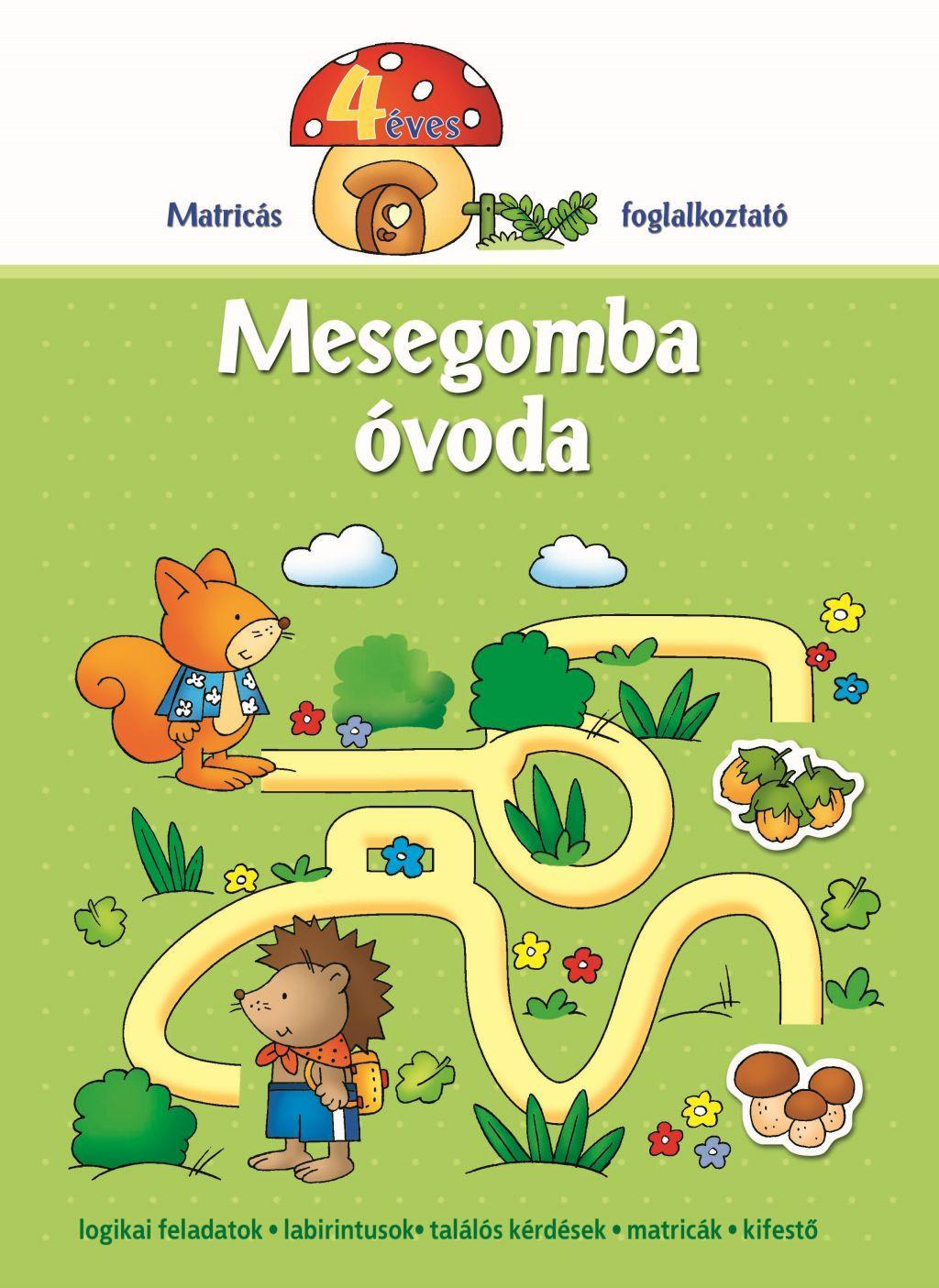 MESEGOMBA ÓVODA 4 ÉVES - MATRICÁS FOGLALKOZTATÓ