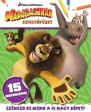 MADAGASZKÁR - KIFESTÕFÜZET 15 MATRICÁVAL