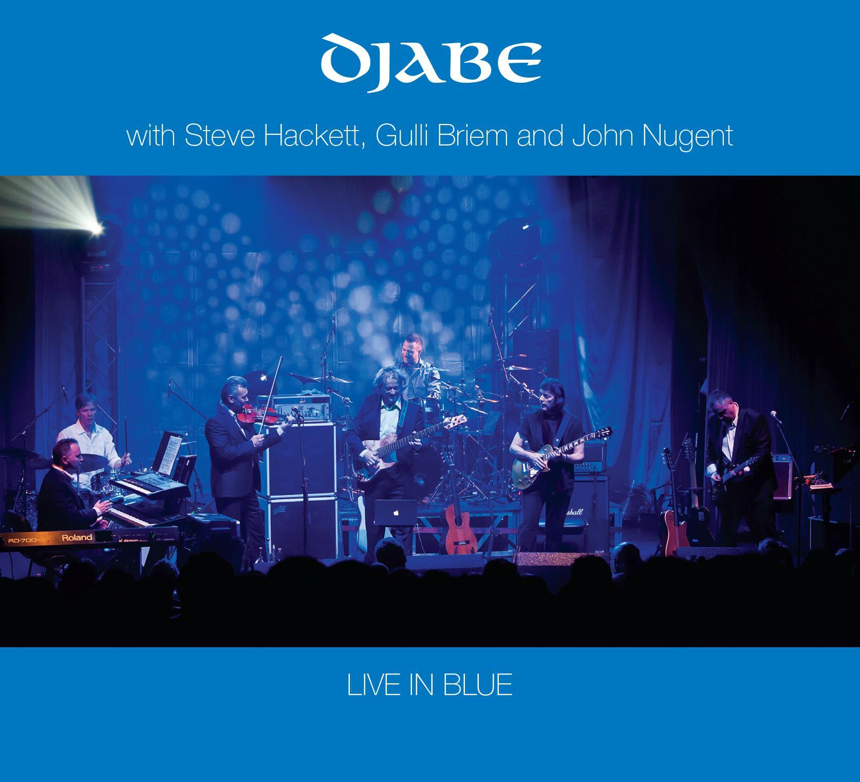 LIVE IN BLUE  - DJABE - 2CD -
