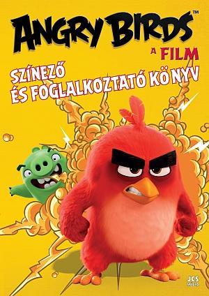 ANGRY BIRDS - A FILM - SZÍNEZÕ ÉS FOGLALKOZTATÓ KÖNYV