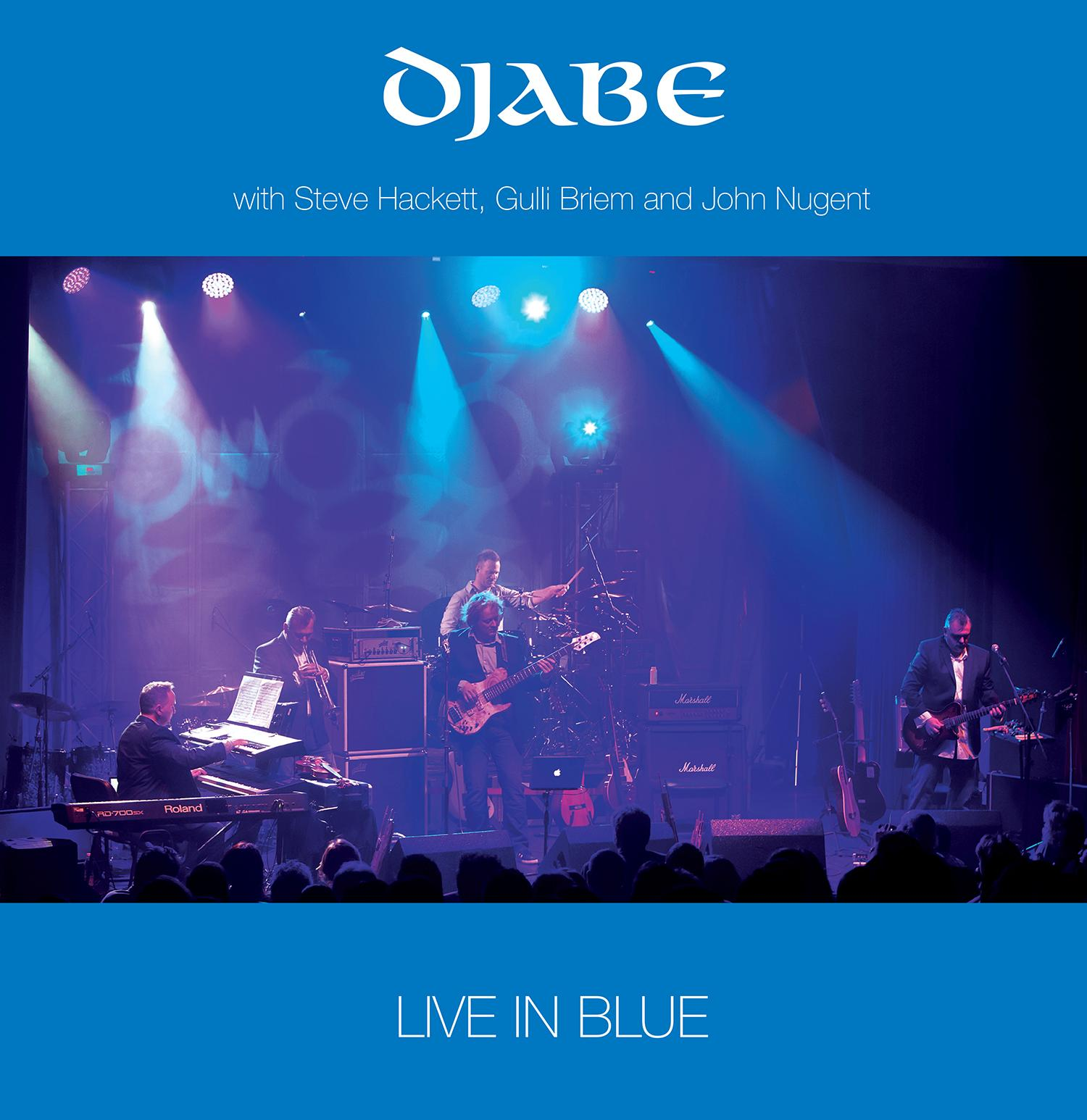 LIVE IN BLUE - DJABE - DVD -