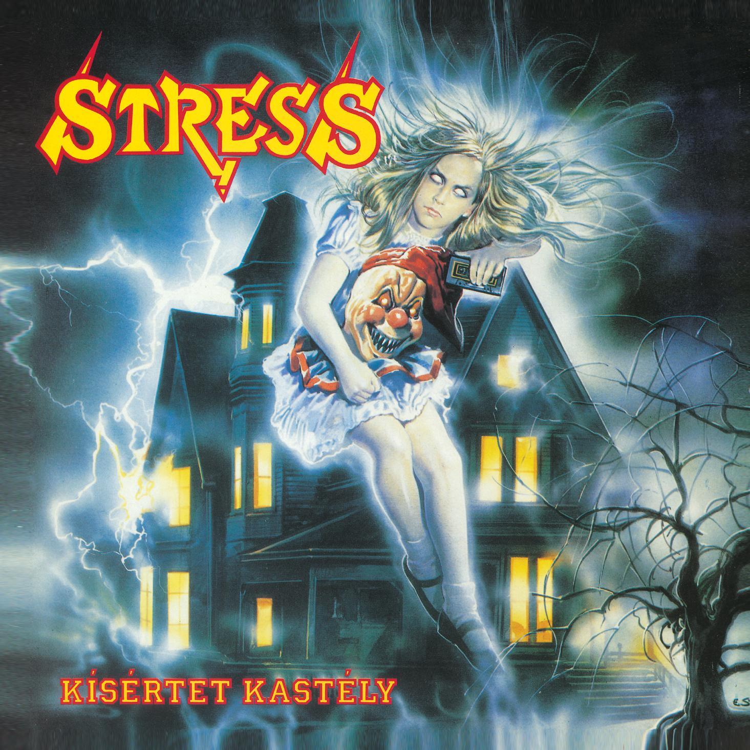 KÍSÉRTET KASTÉLY - STRESS - CD -