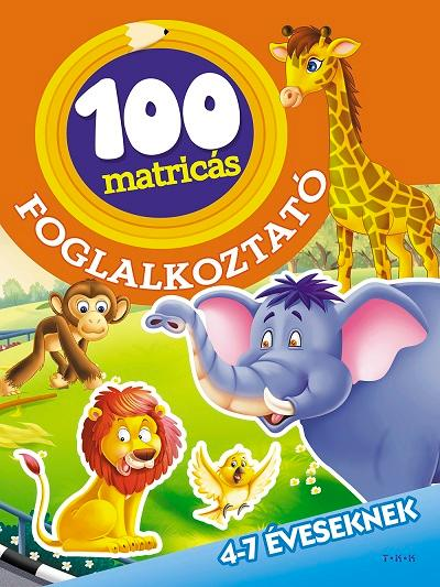 AZ ÁLLATKERTBEN - 100 MATRICÁS FOGLALKOZTATÓ