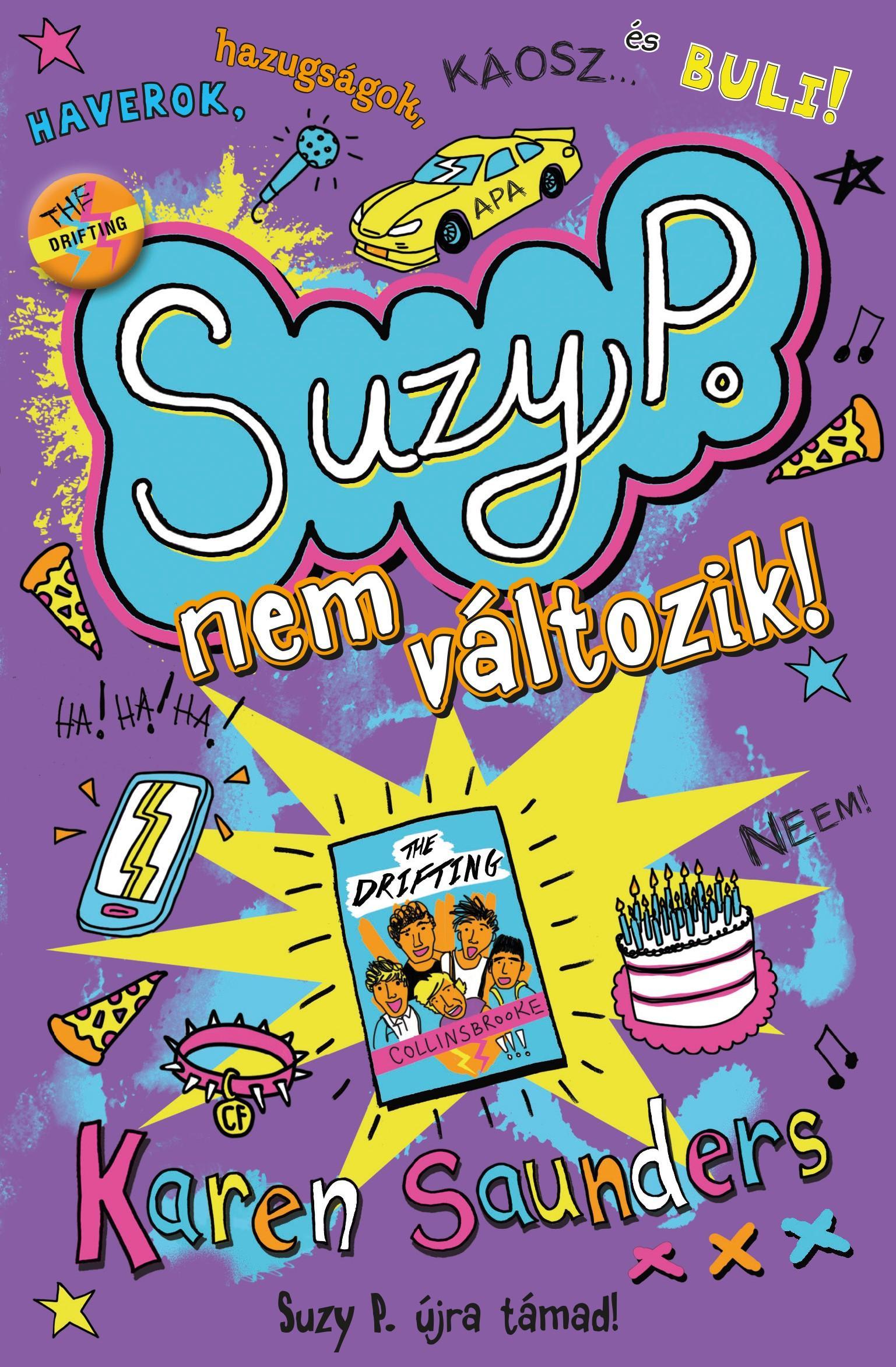 SAUNDERS, KAREN - SUZY P. NEM VÁLTOZIK!