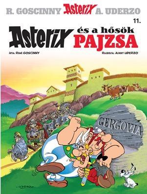 ASTERIX ÉS A HŐSÖK PAJZSA - ASTERIX 11. (ÚJ BORÍTÓ!)