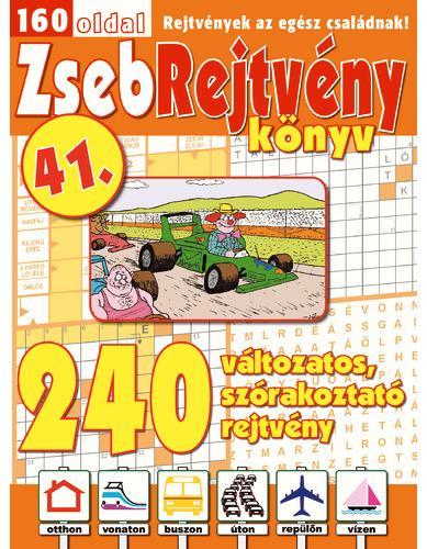 ZSEBREJTVÉNY KÖNYV 41.