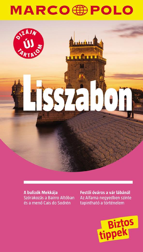 LISSZABON - MARCO POLO - ÚJ DIZÁJN, ÚJ TARTALOM