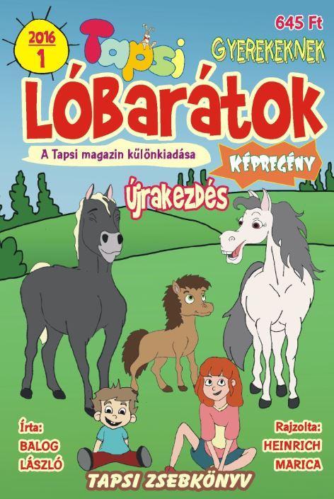 LÓBARÁTOK - ÚJRAKEZDÉS - TAPSI ZSEBKÖNYV 2016/1.
