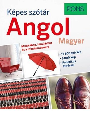 KÉPES SZÓTÁR - ANGOL-MAGYAR (PONS)