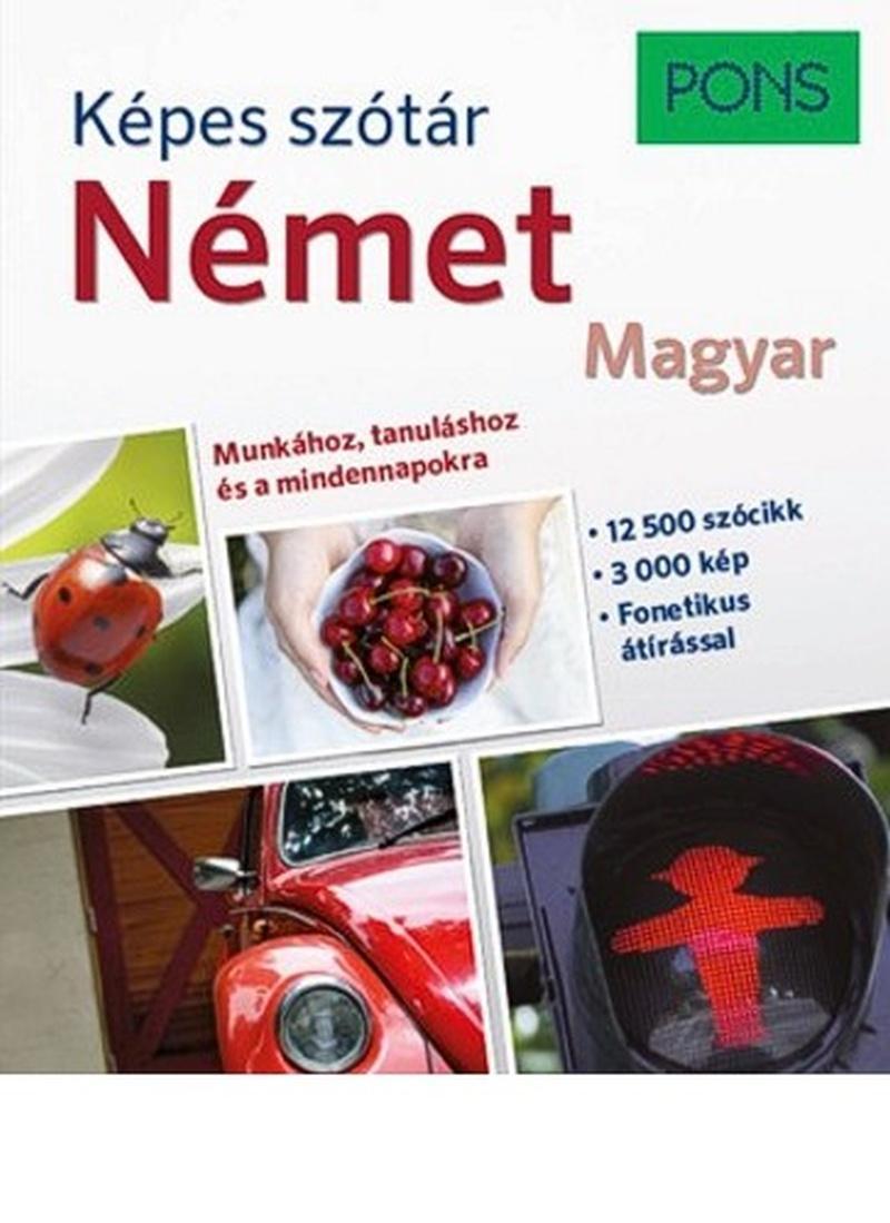 KÉPES SZÓTÁR - NÉMET-MAGYAR (PONS)