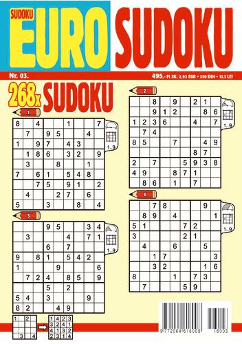 EURO SUDOKU (NR.3/268X)