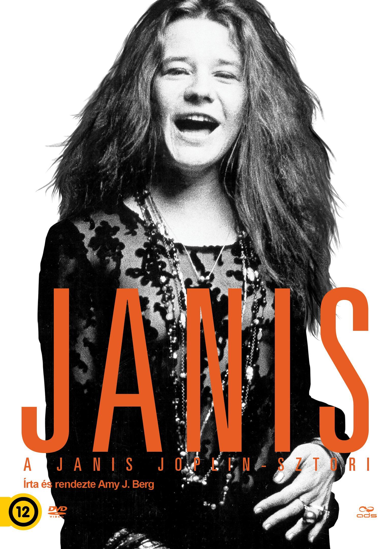 BERG, AMY - JANIS - A JANIS JOPLIN-SZTORI - DVD -