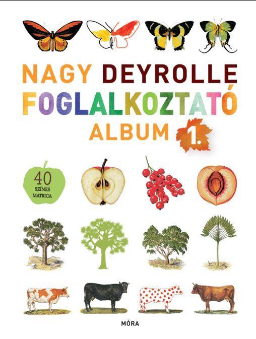 NAGY DEYROLLE FOGLALKOZTATÓ ALBUM 1. - 40 SZÍNES MATRICÁVAL