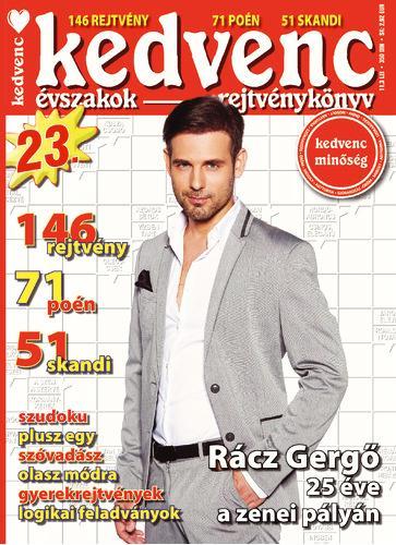 KEDVENC ÉVSZAKOK REJTVÉNYKÖNYV 23.