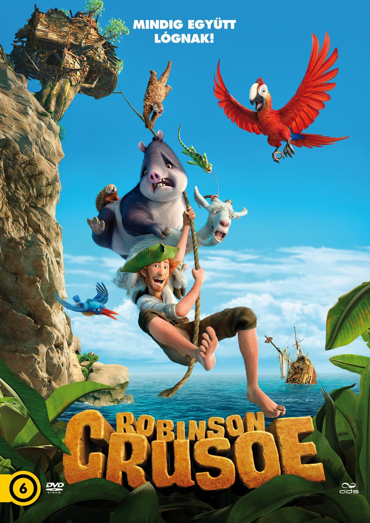 - ROBINSON CRUSOE - DVD -