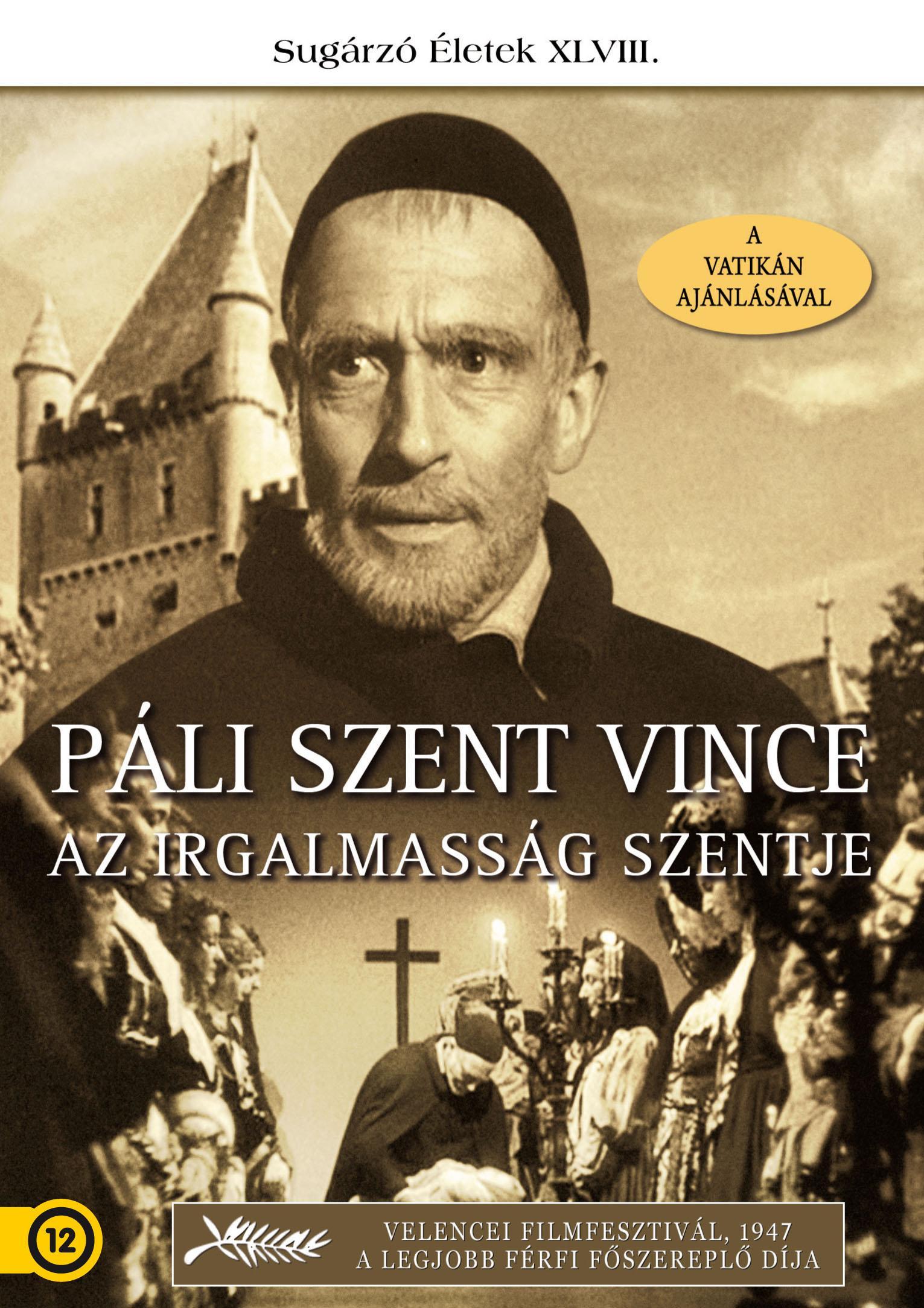- PÁLI SZENT VINCE AZ IRGALMASSÁG SZENTJE - DVD -