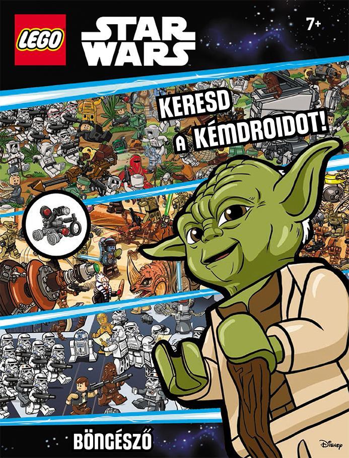 LEGO STAR WARS - KERESD A KÉMDROIDOT! - BÖNGÉSZÕ AJÁNDÉK MINIFIGURÁVAL