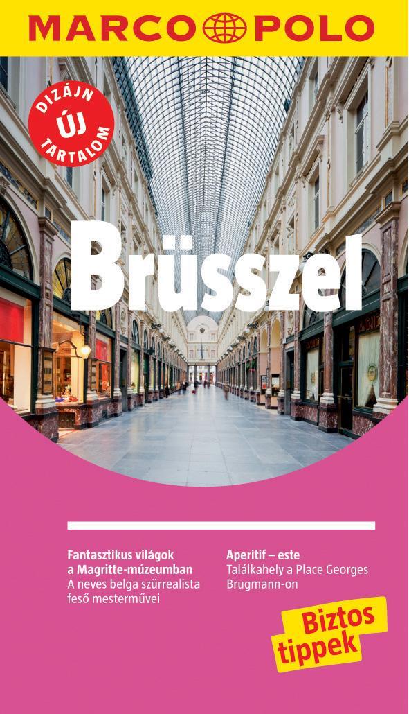 BRÜSSZEL - MARCO POLO - ÚJ TARTALOMMAL!
