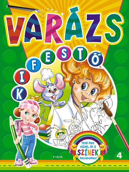 VARÁZS KIFESTŐ 4. - UFÓK