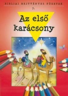 - AZ ELSŐ KARÁCSONY - BIBLIAI REJTVÉNYES FÜZET
