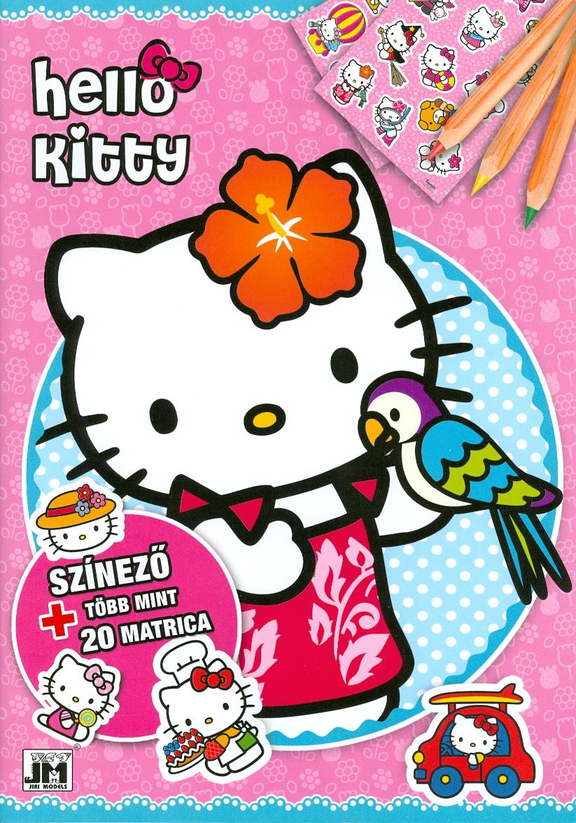 HELLO KITTY - A4+ MATRICÁS SZÍNEZÕ