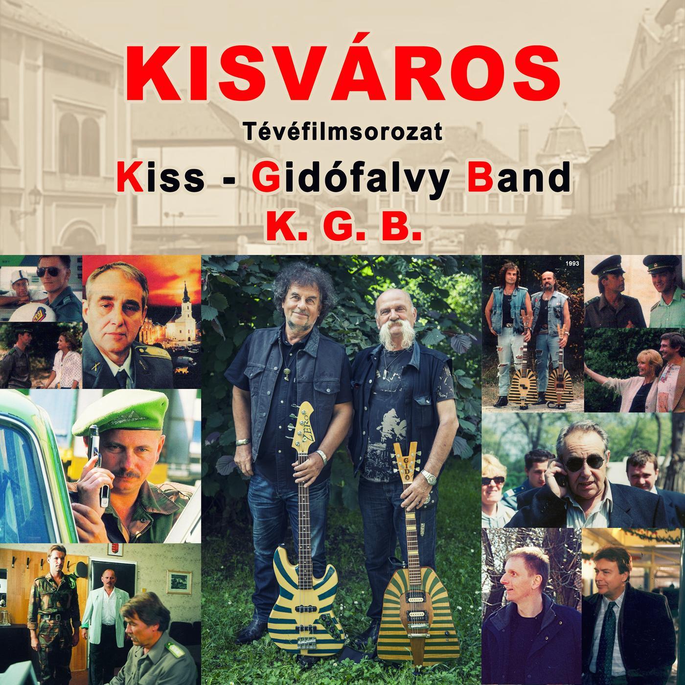- KISVÁROS (TÉVÉFILMSOROZAT) - K.G.B. - DIGI 2CD -