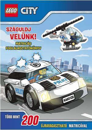 SZÁGULDJ VELÜNK! - MATRICÁS FOGL. - LEGO CITY