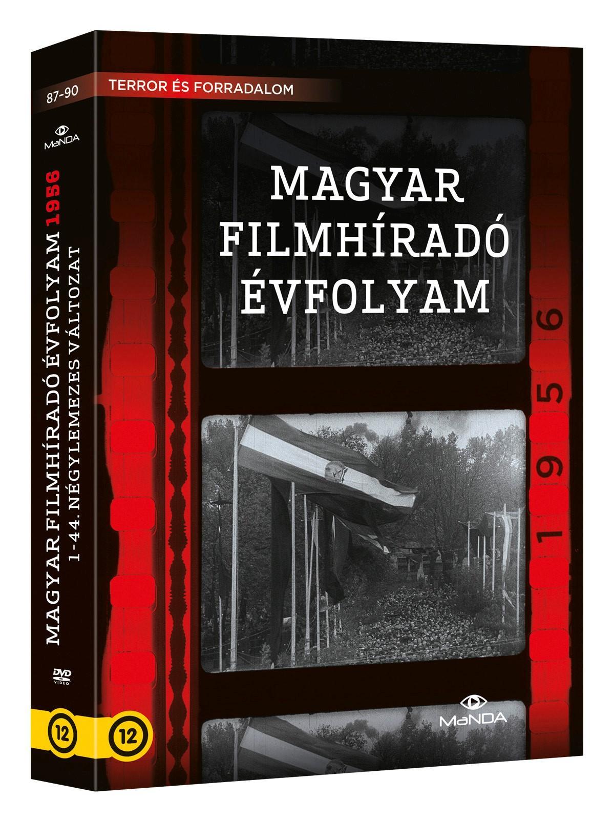 - MAGYAR FILMHÍRADÓ ÉVFOLYAM 1956 - 4DVD -