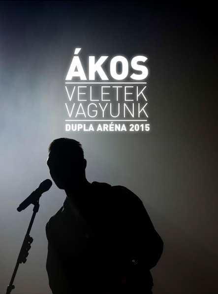 VELETEK VAGYUNK - DUPLA ARÉNA 2015 - DVD -