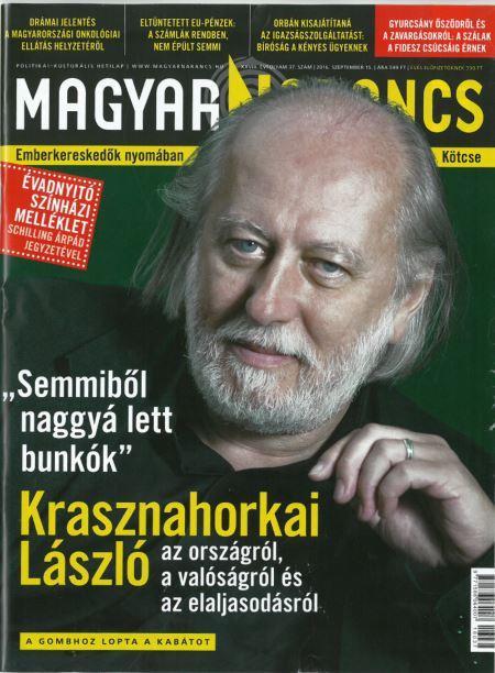 MAGYAR NARANCS FOLYÓIRAT - XXVIII. ÉVF. 37. SZÁM, 2016. SZEPTEMBER 15.