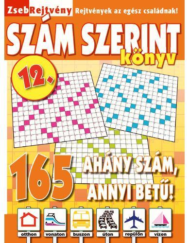 ZSEBREJTVÉNY SZÁM SZERINT KÖNYV 12.