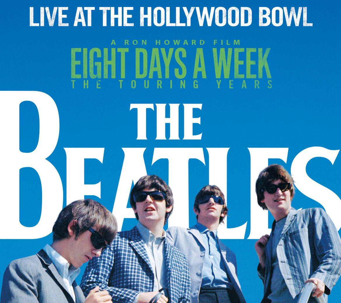 LIVE AT THE HOLLYWOOD BOWL - THE BEATLES - CD -